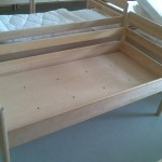 Кровать массив бука 140х65х35 см